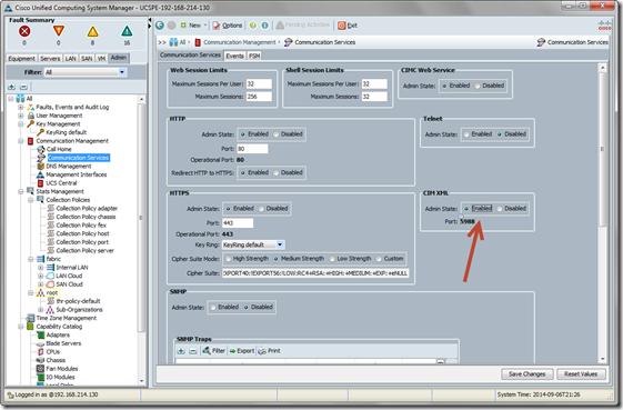 Cisco UCS CIM-XML