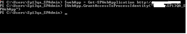 GrantAccessToProcessIdentity