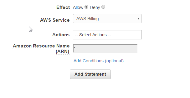 aws-policy-generator