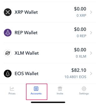 How to send EOS from Coinbase to LNKO Wallet – Aryan Nava